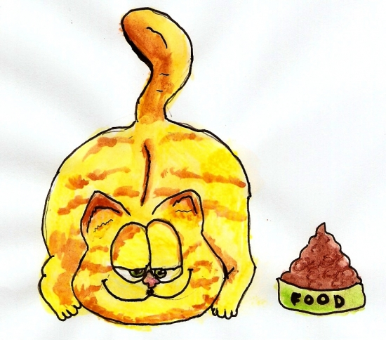 Garfield by Sibylle